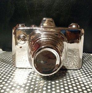 Ceramic mirror finish camera home decor